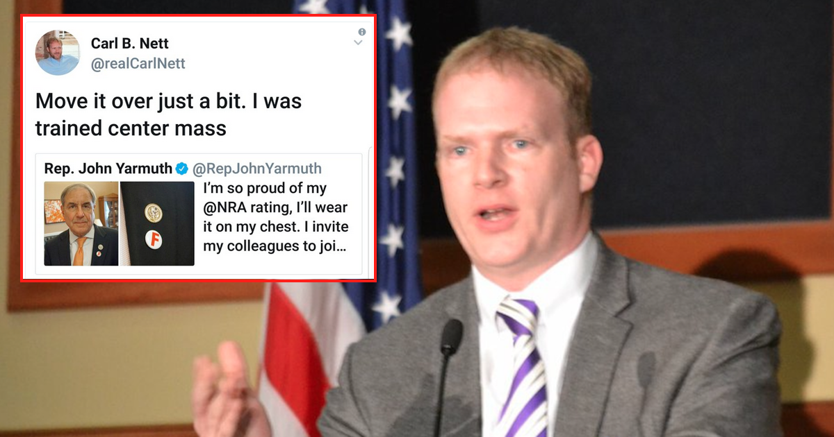 Republican 'jokes' about shooting Democrat over NRA and gun law stance - Being Liberal
