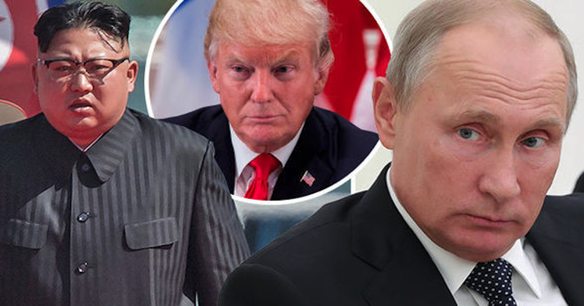 Putin taunts Trump by declaring Kim Jong-un the 'winner of this round' - Being Liberal