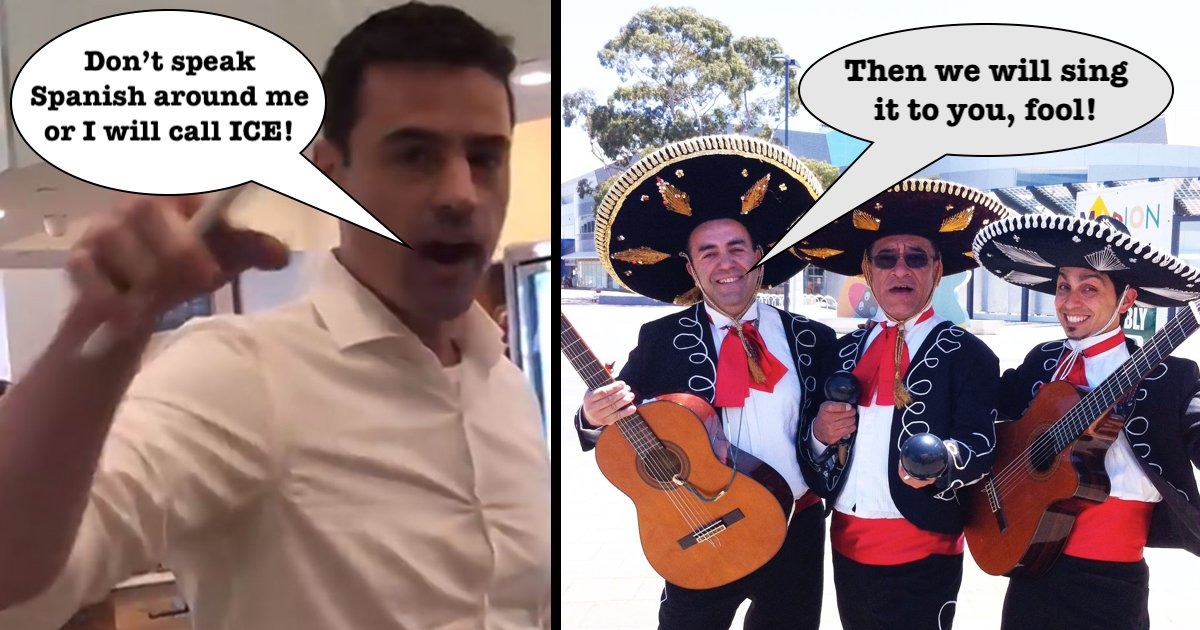 GoFundMe meets goal: Mariachi band to play outside of racist NYC lawyer's office - Being Liberal