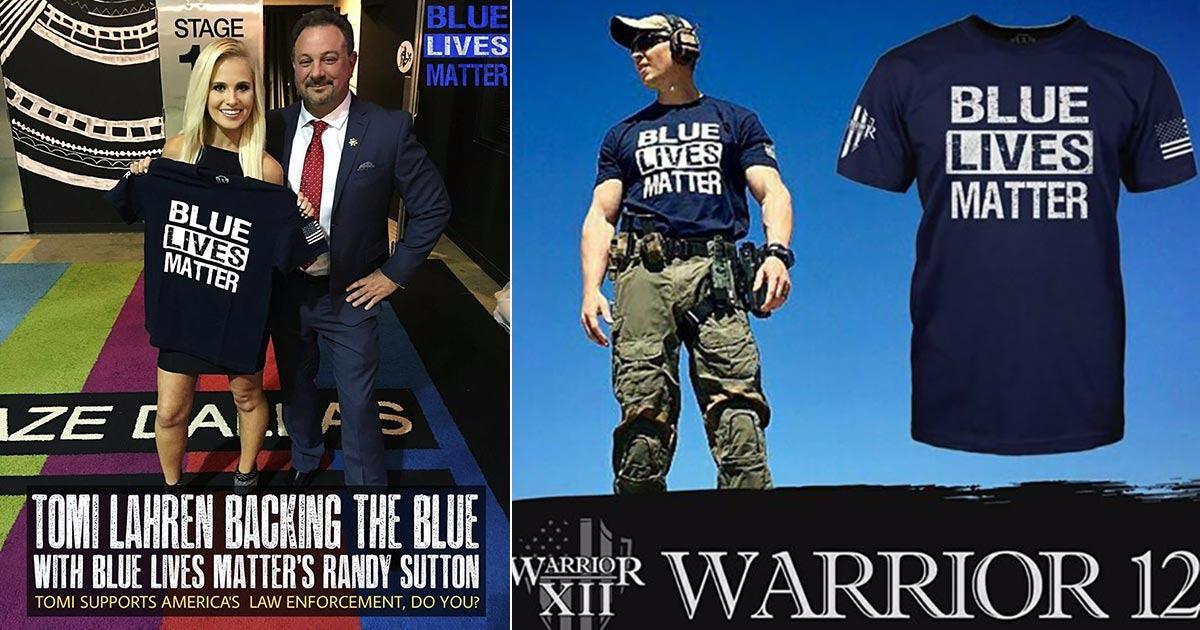 Get Your OFFICIAL Blue Lives Matter Shirt