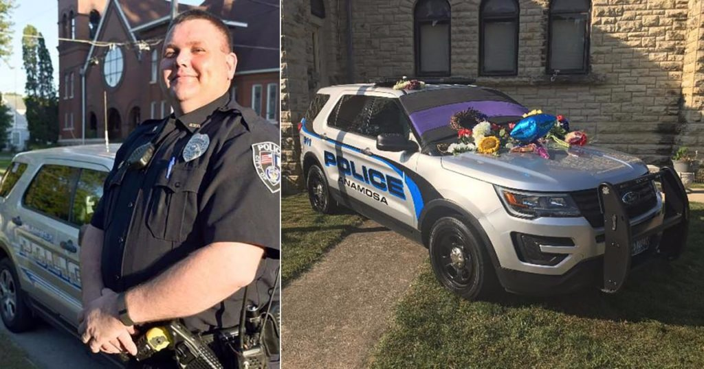 Cops Give Fallen Officer's Son Business Cards At Memorial, Bully Tears Them Up – We Can Help