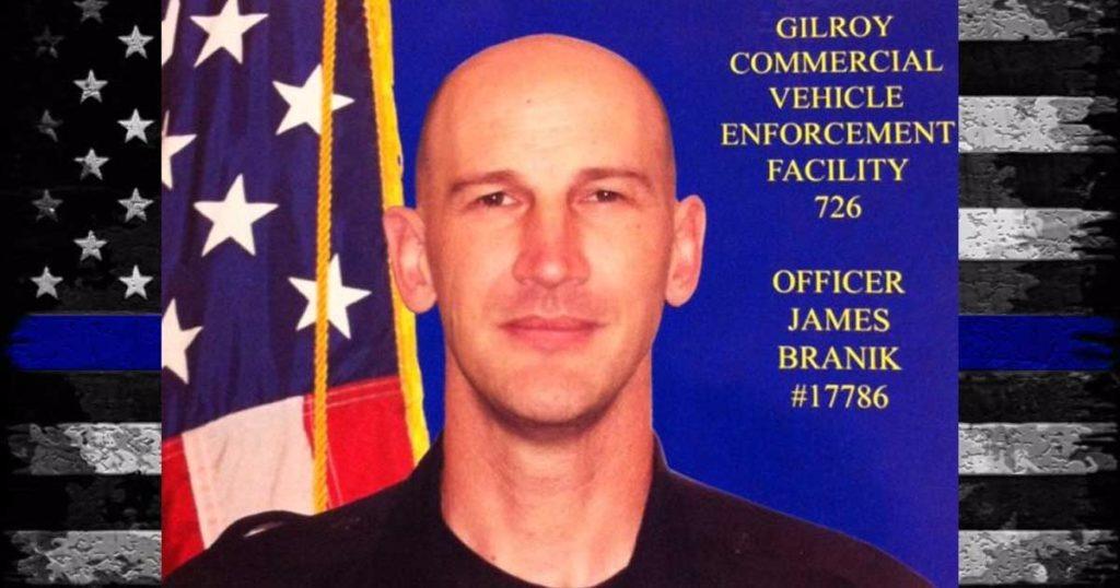Hero Down: California Highway Patrol Officer James Branik Killed On Way To Work