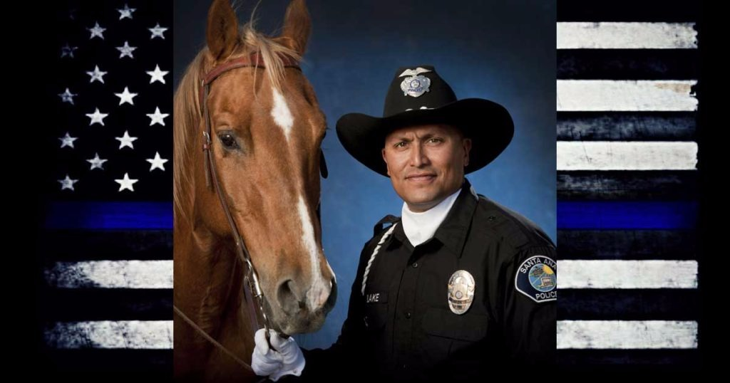 Hero Down: Santa Ana Police Mount Zeus Dies On Duty