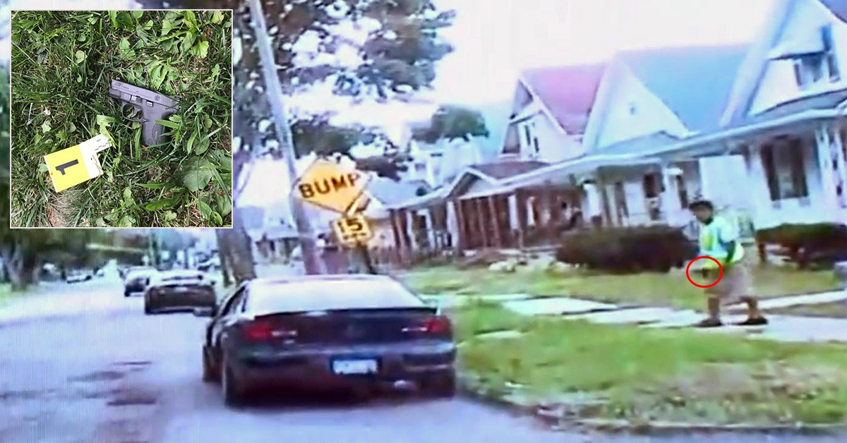 VIDEO: Community Outraged After Police Shoot Armed Robber Who Pulled Gun On Cops