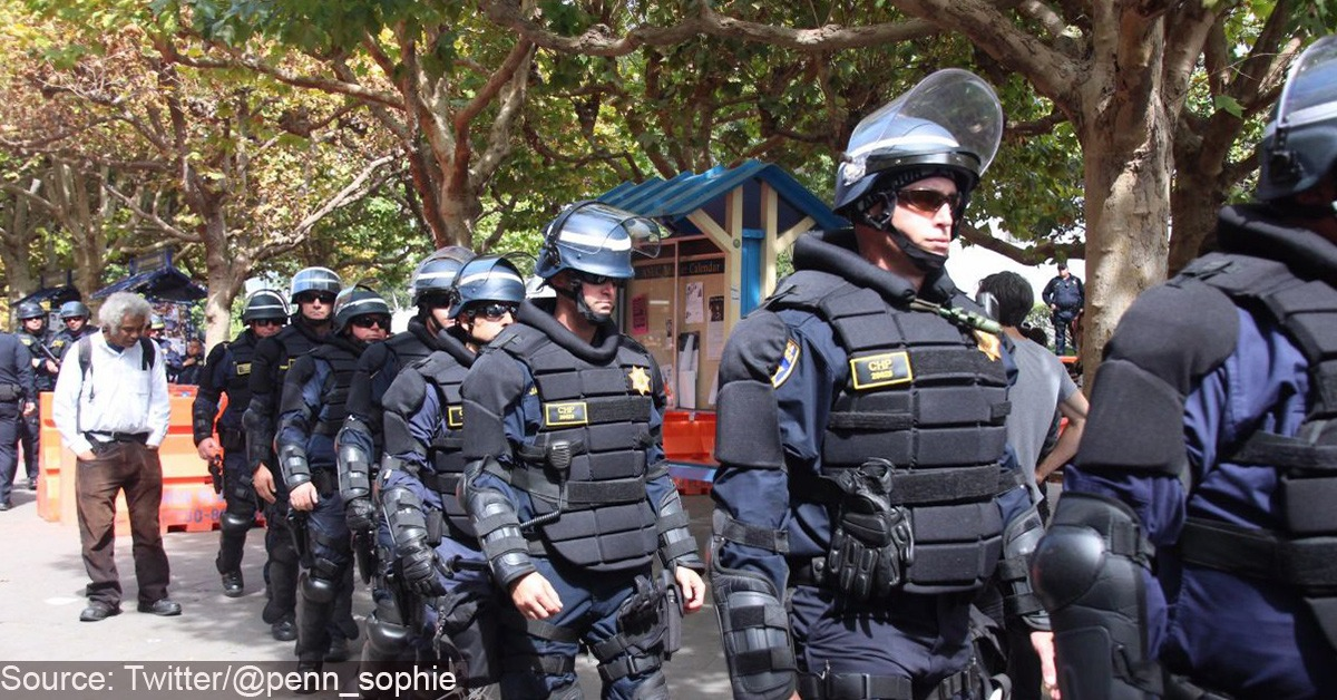 UC-Berkeley Banned Cops From Using Public Restrooms To Protect Student Feelings