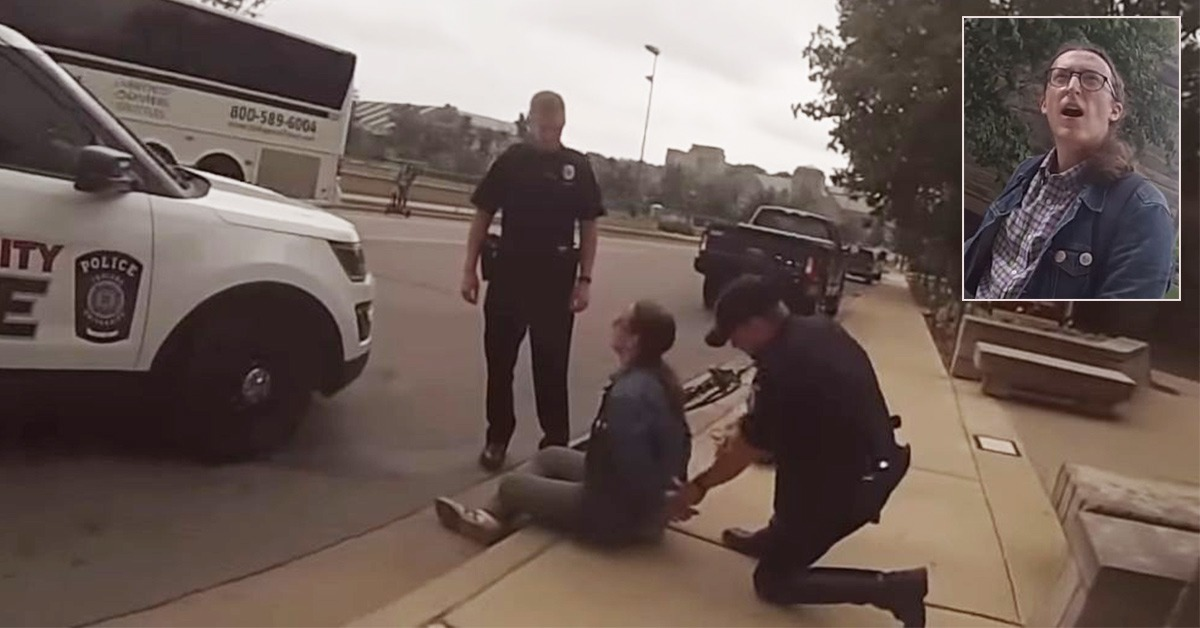 VIDEO: Man Calls Mommy For Help After Arrest For Attacking Pro-Life Activists