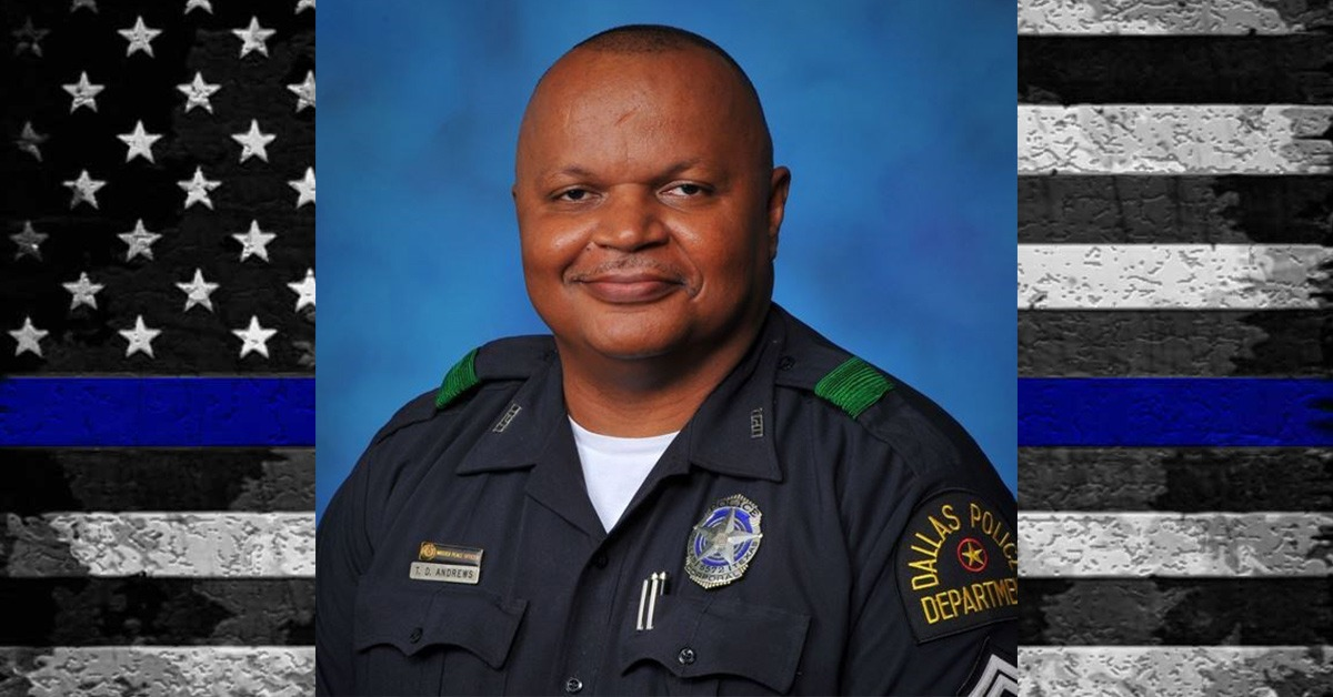 Hero Down: Dallas PD Senior Corporal Tyrone Andrews Succumbs To Cancer