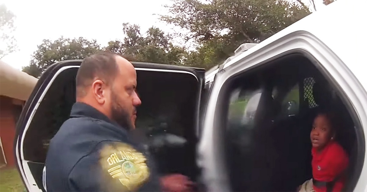 VIDEO: Bodycam Shows Arrest Of Sobbing Six-Year-Old Girl