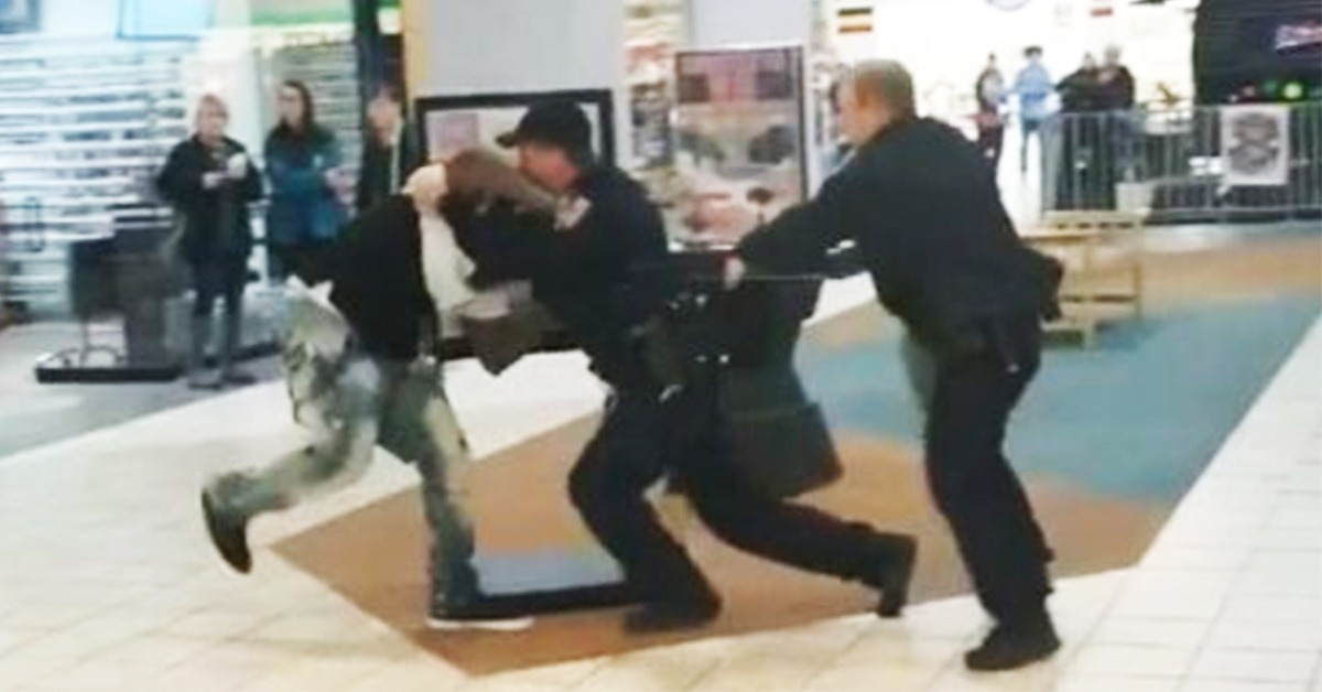 VIDEO: Fugitive Faceplants During Tasing After Fighting Cops