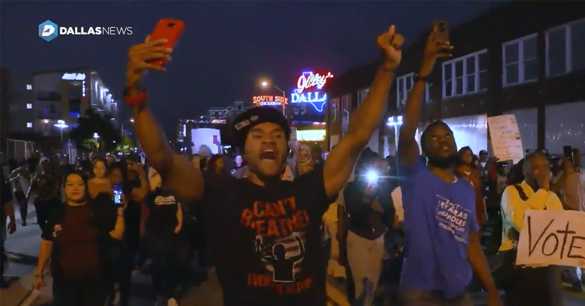 VIDEO: Dallas Chief Questions Police Use Of Pepper Ball Guns During Protests