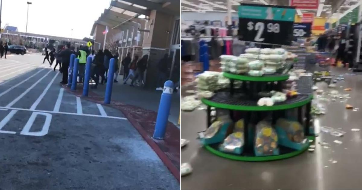 Chicago Students Riot And Loot At Strip Mall During Gun Walkout - Blue Lives Matter