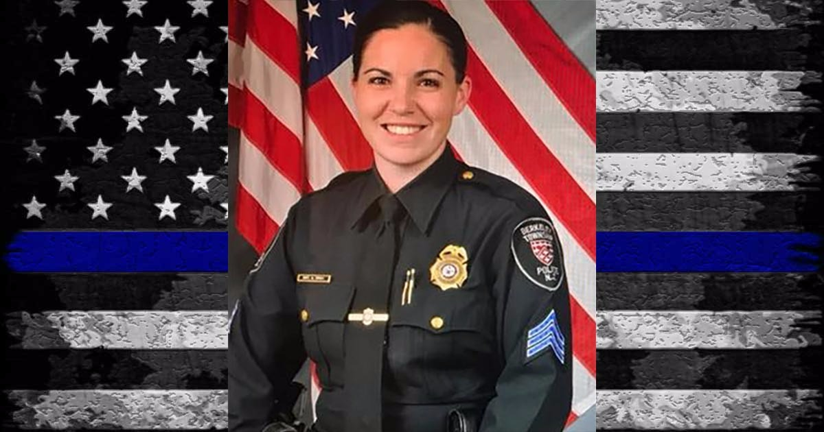 Hero Down: 32 Year Old Berkeley Township Sgt. Alison Wray Suddenly Dies While On-Duty