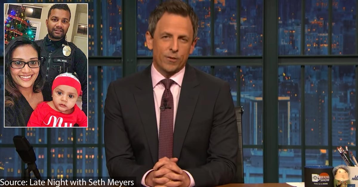 Comedian Seth Meyers Mocks Murdered Officer's Family, Other Victims - Blue Lives Matter