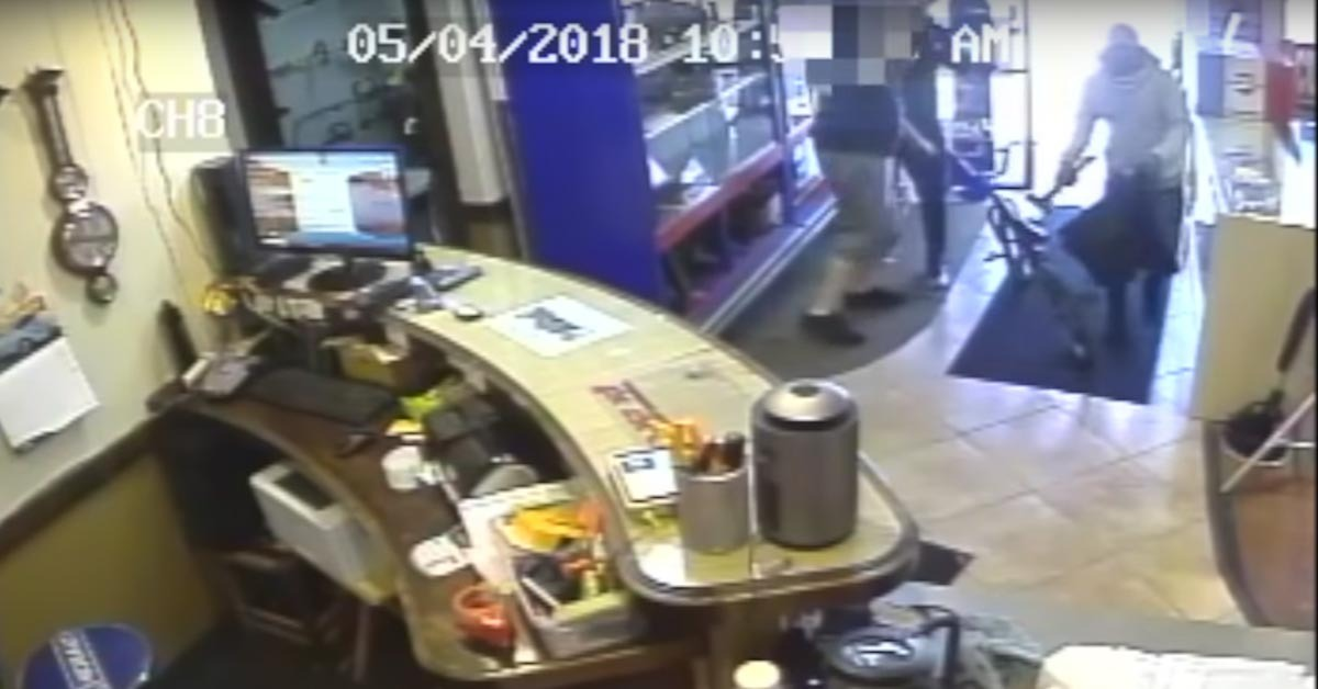 VIDEO: Pawn Shop Owner Takes Out Armed Robber