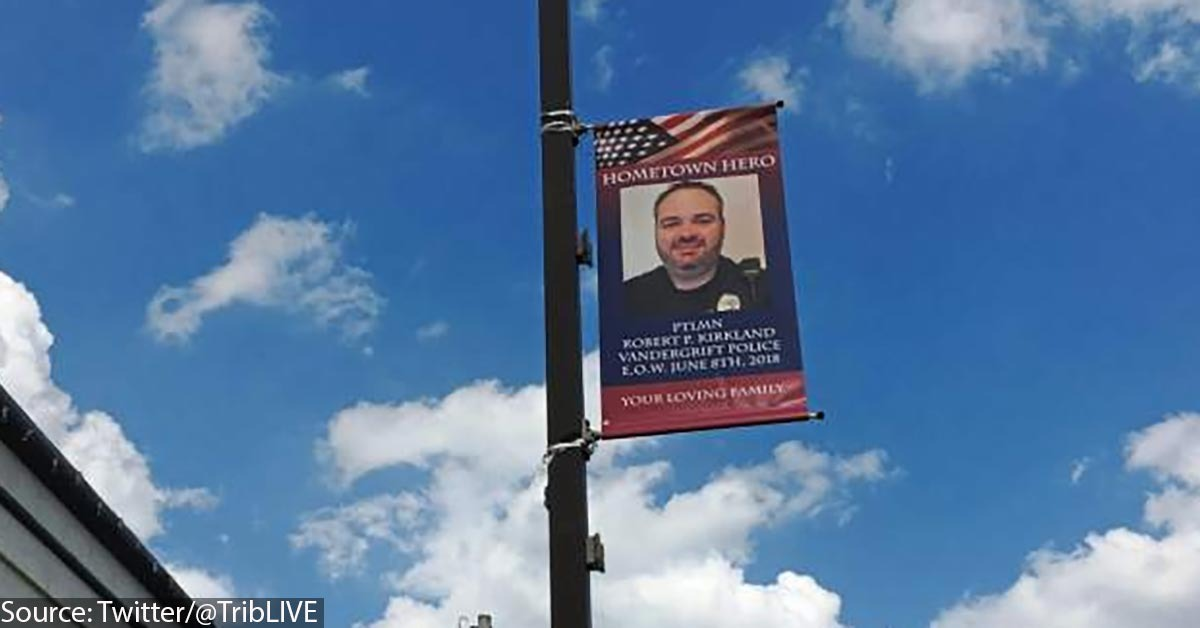 Memorial Honoring Fallen Cop Declared 'Insult To Veterans,' City Orders Removal