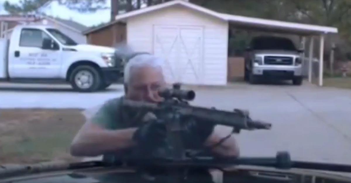 VIDEO: Dashcam Video Shows Gunman Murder 2 Deputies, Ambush Responding Officers