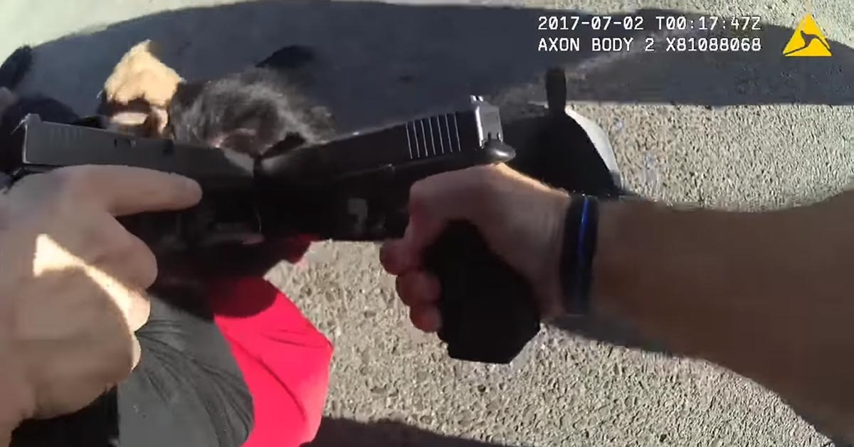 VIDEO: Felon Gets Shot By Police While Drawing Gun, Family Now Suing