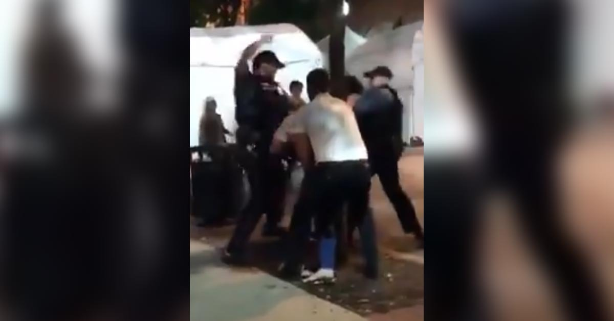 VIDEO: Cop Accused Of Brutality Breaking Up Brawling Women, Now Truth Comes Out