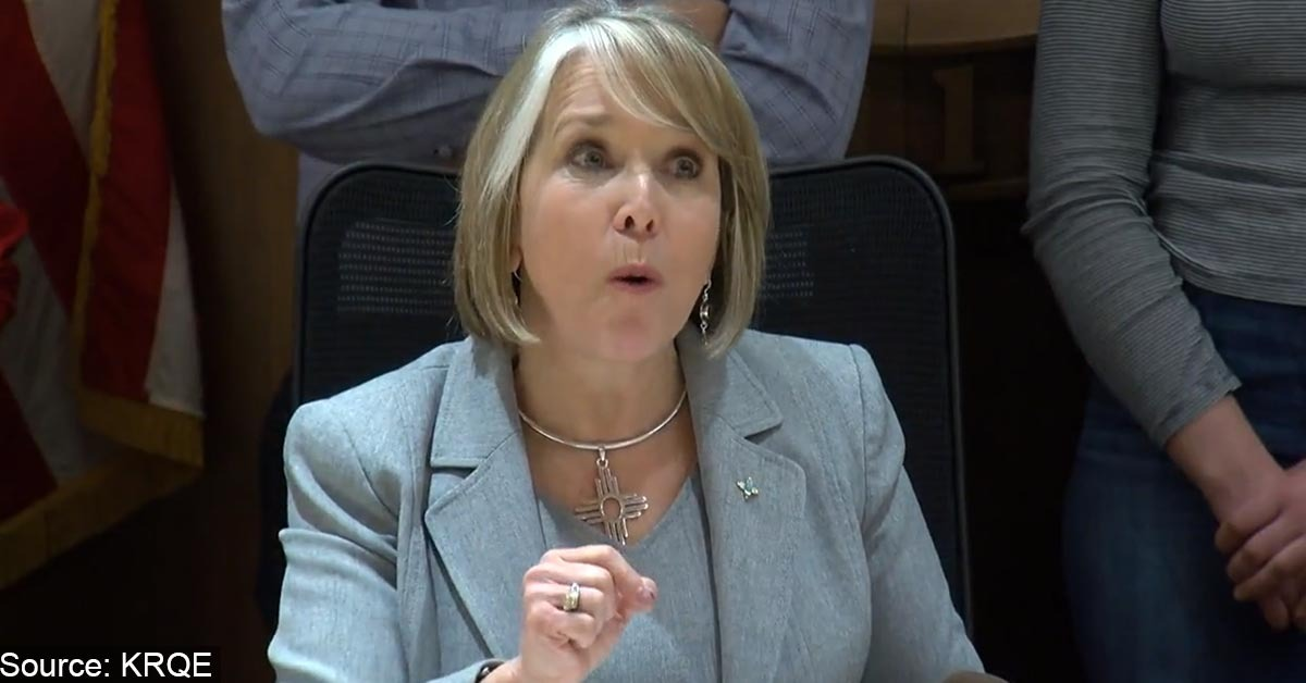 NM Governor Tells Law Enforcement To Enforce New 'Red Flag' Guns Laws Or Quit