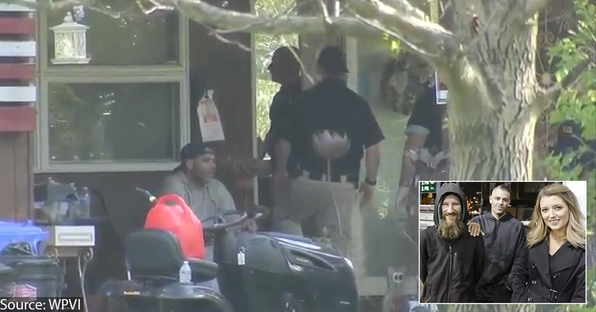 Cops Raid Home Of Couple Accused Of Stealing $400K From Homeless Veteran