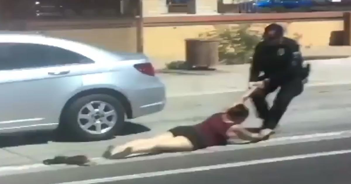 VIRAL VIDEO: Outrage After Cop Recorded Winning A Fight With A Woman