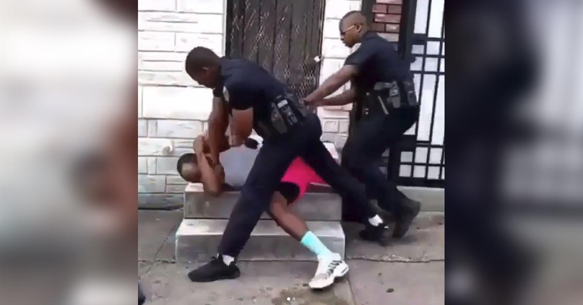 VIDEO: Baltimore Officer Resigns After Video Shows Him Delivering Beatdown