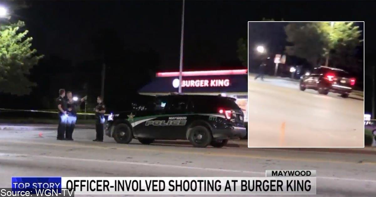 VIDEO: Robber Brings BB Gun To Gunfight, Police Bring Real Guns