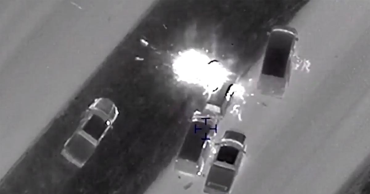 VIDEO: Footage Shows Moment Austin Bomber Blew Up Car As SWAT Was Breaching
