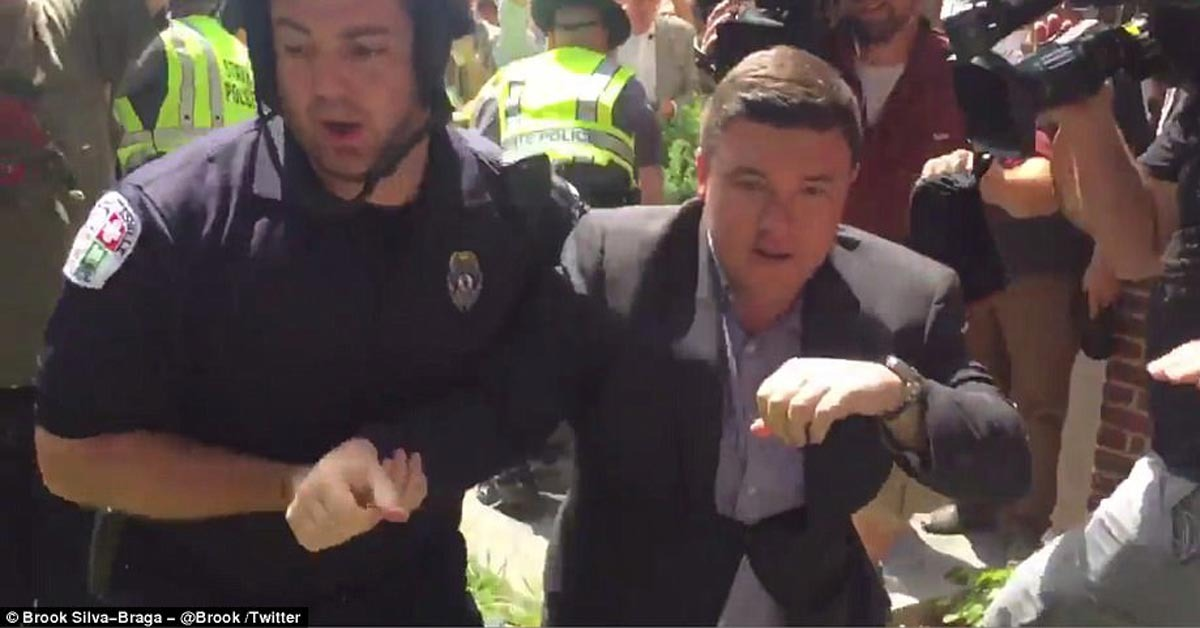 Man Sentenced To Pay $1 For Punching 'Unite The Right' Organizer In Face