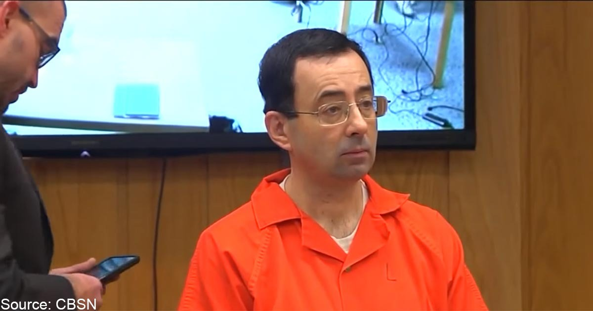 Infamous Child Molester Larry Nassar Assaulted After Just Hours In Prison