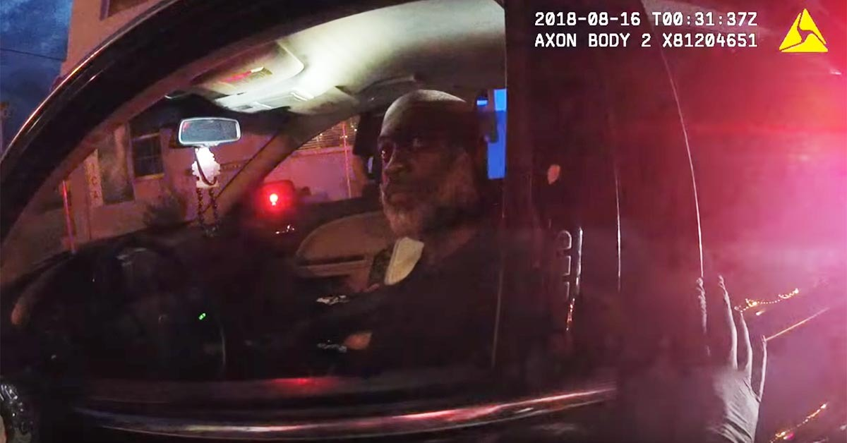VIDEO: Deputy Politely Asks Man To Step Out Of Car, So The Man Pulls A Gun