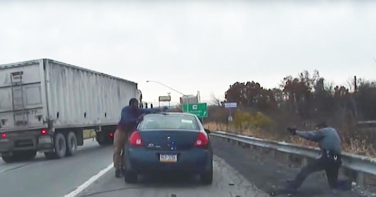 VIDEO: 'Routine' Traffic Stop Ends In Gun Battle, Trooper Shot In Femoral Artery