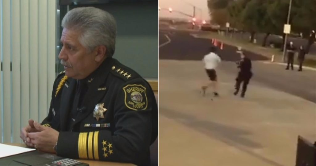 VIDEO: Sheriff's Office Responds To Viral Video Of Deputy Running Away From Suspect