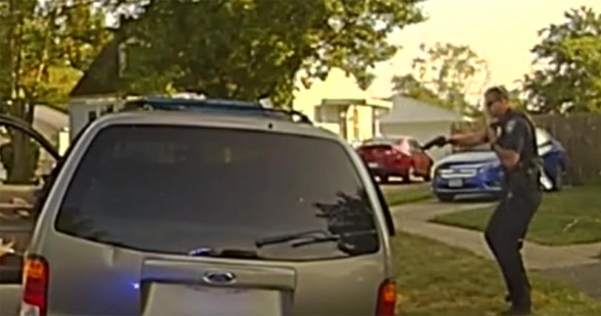 VIDEO: Cop Tells Felon 'You Reach For That Gun, I'll Blow Your Brains Out' – He Does So…