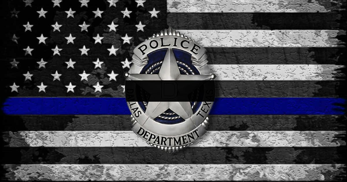 DEVELOPING: 1 Dallas Cop Has Non-Survivable Injury, Other Cop Shot In Face - Blue Lives Matter