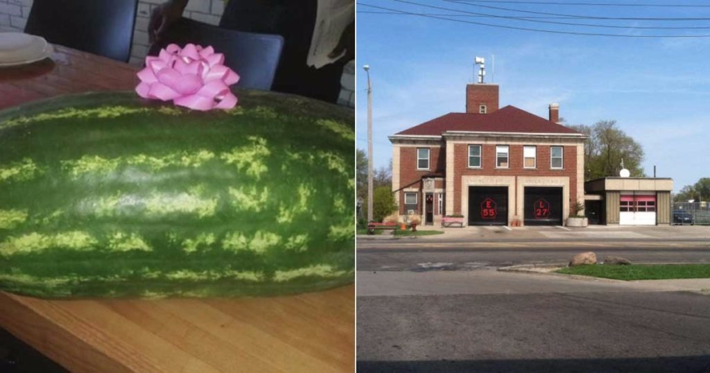 Detroit Firefighter Fired After Bringing Watermelon To Firehouse