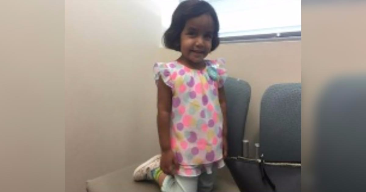 Special-Needs Three-Year-Old Missing After Father Kicks Her Outside At 3 AM As Punishment