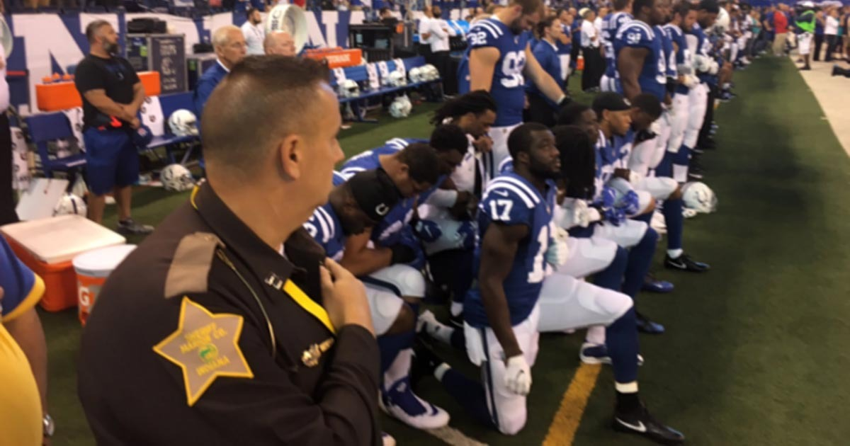 NFL Proposes 15-Yard Penalty For Kneeling
