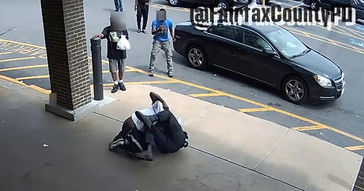 VIDEO: Cop Fights With Suspect As Men Hang Back And Record Instead Of Helping