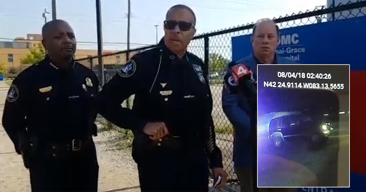 Detroit Officer Very Critical After SUV Driver Hits Him And Flees