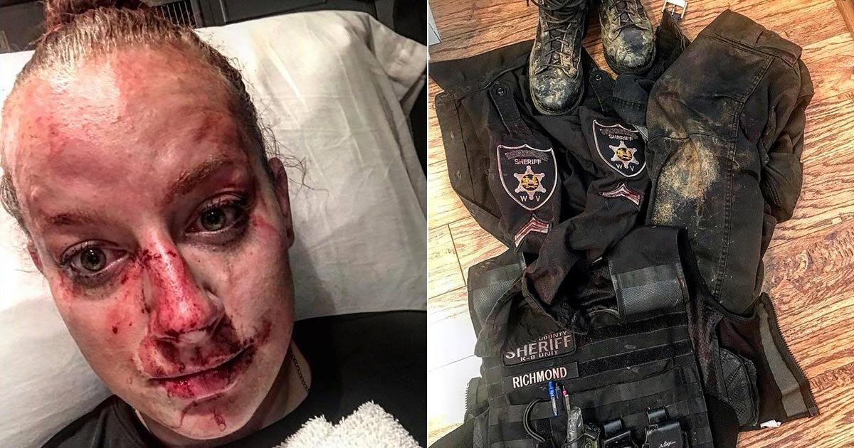 Deputy's Amazing Story Of Fight For Her Life With Drugged Suspect Goes Viral