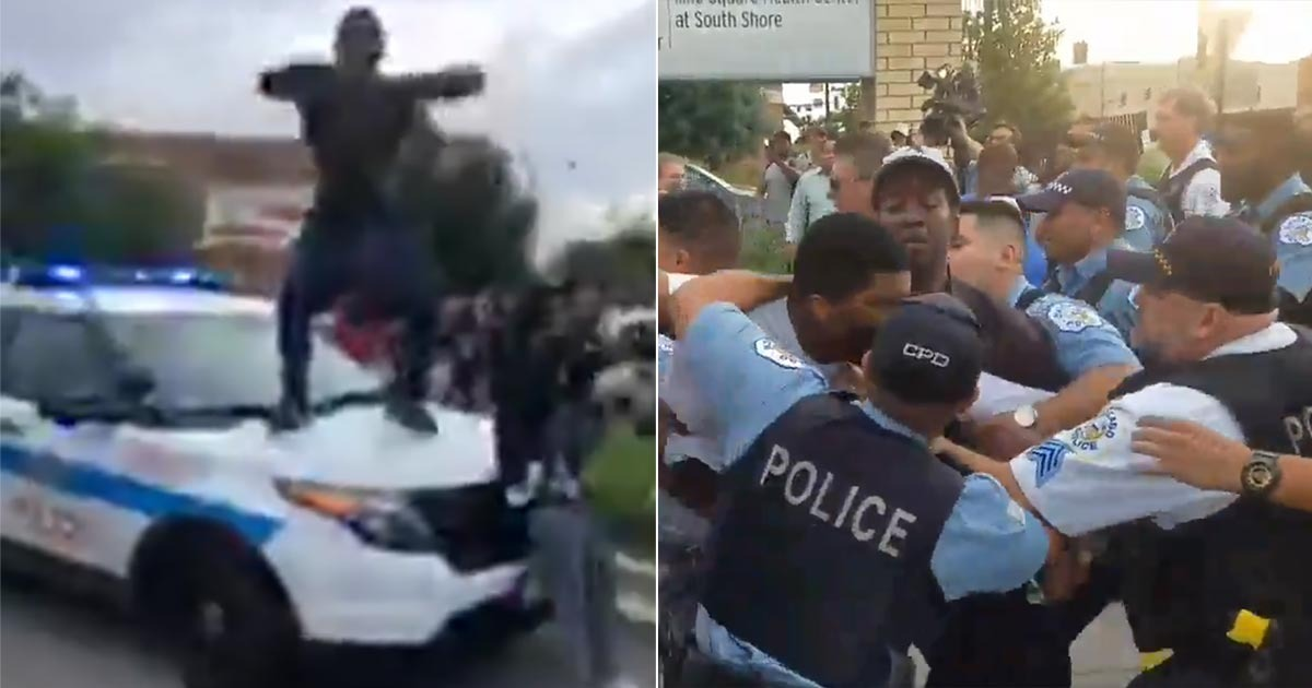 'Kill The Cops' – Unrest After Chicago Cop Shot 'Unarmed Black Man' With Gun