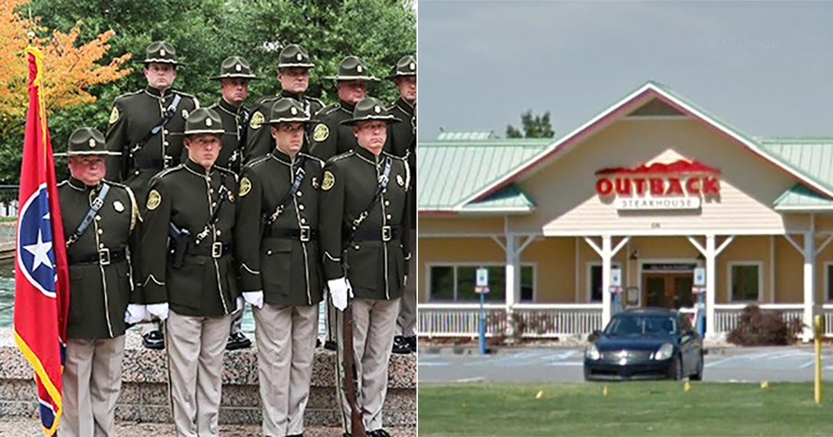 Fail Snopes Claims Cop Booted From Outback Wasn T A