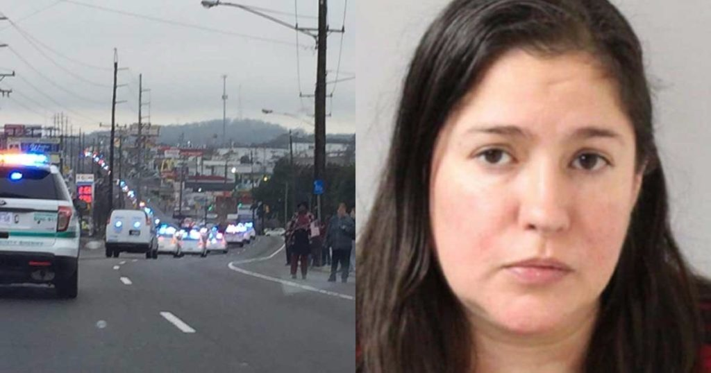 Suicidal Woman, Juli Glisson, Charged In Death Of Metro Nashville Police Officer Mumaw