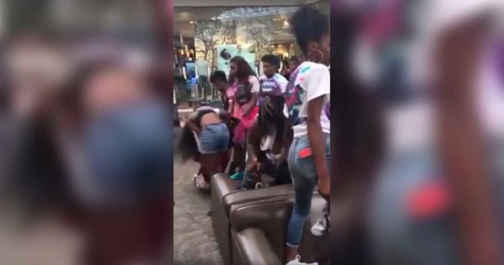 30 Females Involved In Wild Brawl In Orange Park Mall, Then They Decided To Resist Arrest