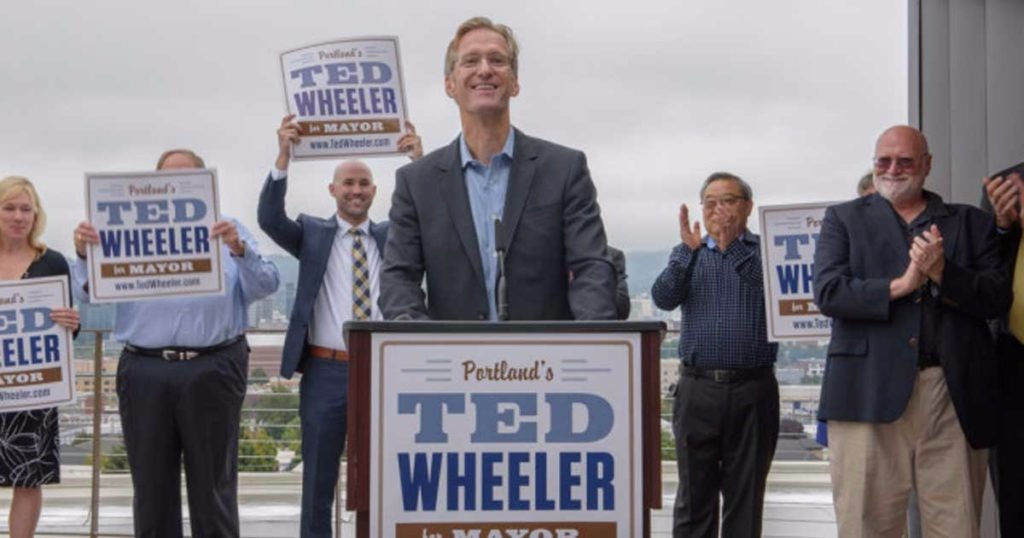 Portland Activist Group Cancels Planned March To Mayor Ted Wheeler's Home After He Caves In To Them