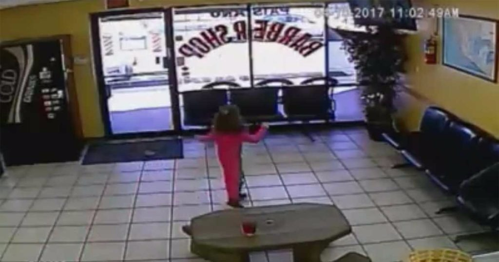 VIDEO: Bullets Fly Inches From 4-Year-Old Girl In Hail Of Gunfire At Chandler Barber Shop