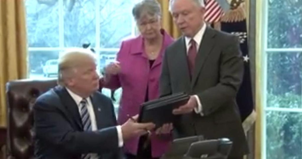 President Trump Signs 3 Executive Orders On Law Enforcement To Protect Police And Annihilate Crime