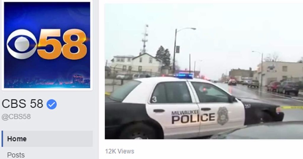CBS 58 Reporter Streaming Live Tells Random Black Male To Watch Out Because The Police Are Trigger