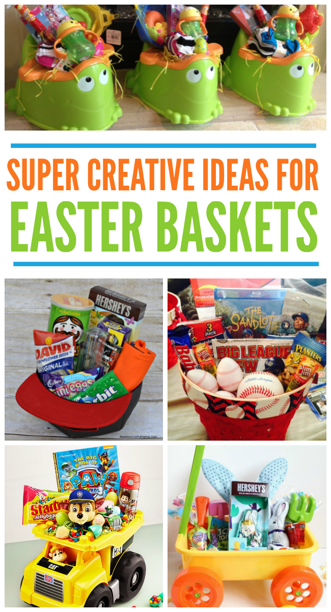 12 creative easter basket ideas kids activities if you want some totally awesome ideas for your easter baskets this year check these out affiliates included negle Images
